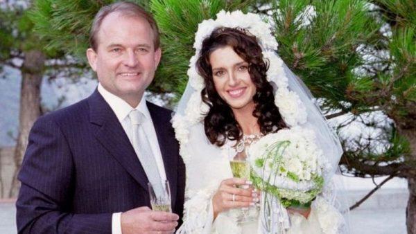 Свадьба Марченко и Медведчука. Фото Риа