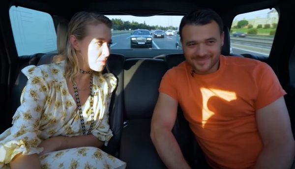 Ксения Собчак и Эмин Агаларов, фото:news.myseldon.com