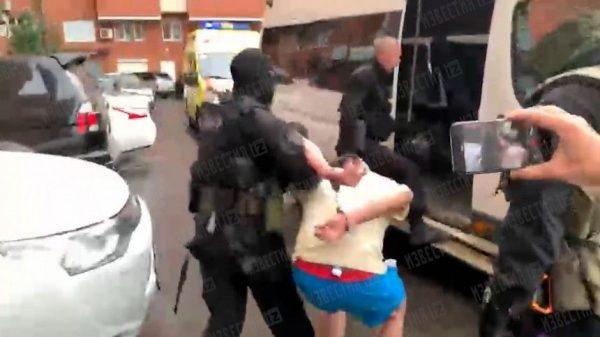 Задержание Романа Третьякова, фото:5-tv.ru