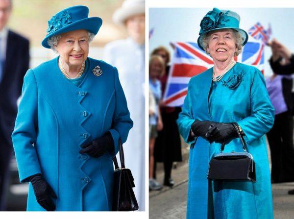 Как простая британка уже 30 лет работает дублёршей королевы Елизаветы II и почему не получает за это зарплату