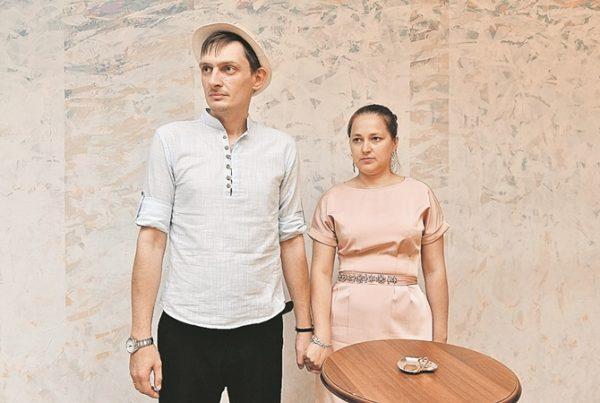 Влад Пугачёв с женой, фото:kp.ua