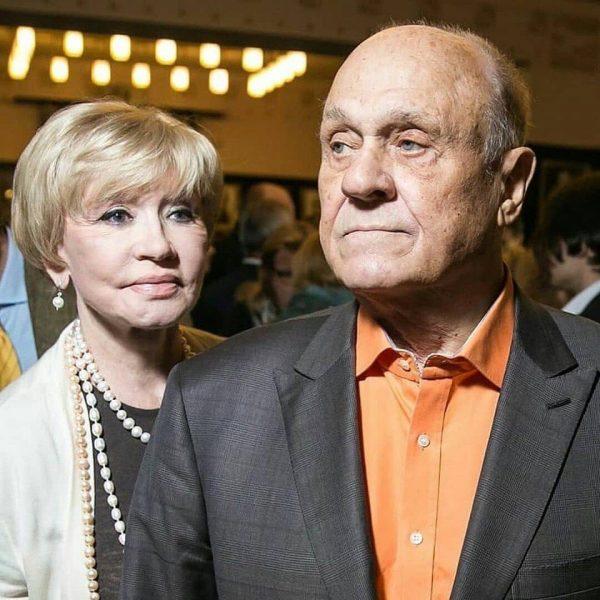Владимир Меньшов и Вера Алентова, фото:fotostrana.ru