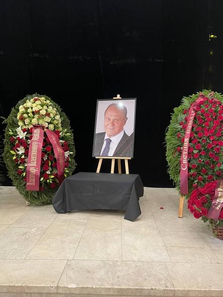 Прощание с Владимиром Меньшовым, фото:starhit