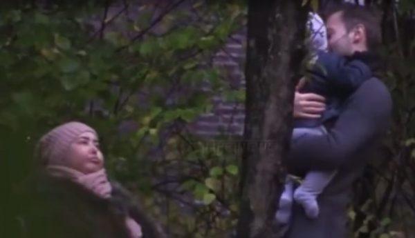 Жанна Фриске и Дмитрий Шепелев с ребёнком, фото:instagram.com/platon.shepelev