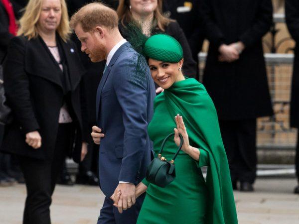 Сурьезнейший принц на фоне голливудской улыбки блистательной жены
