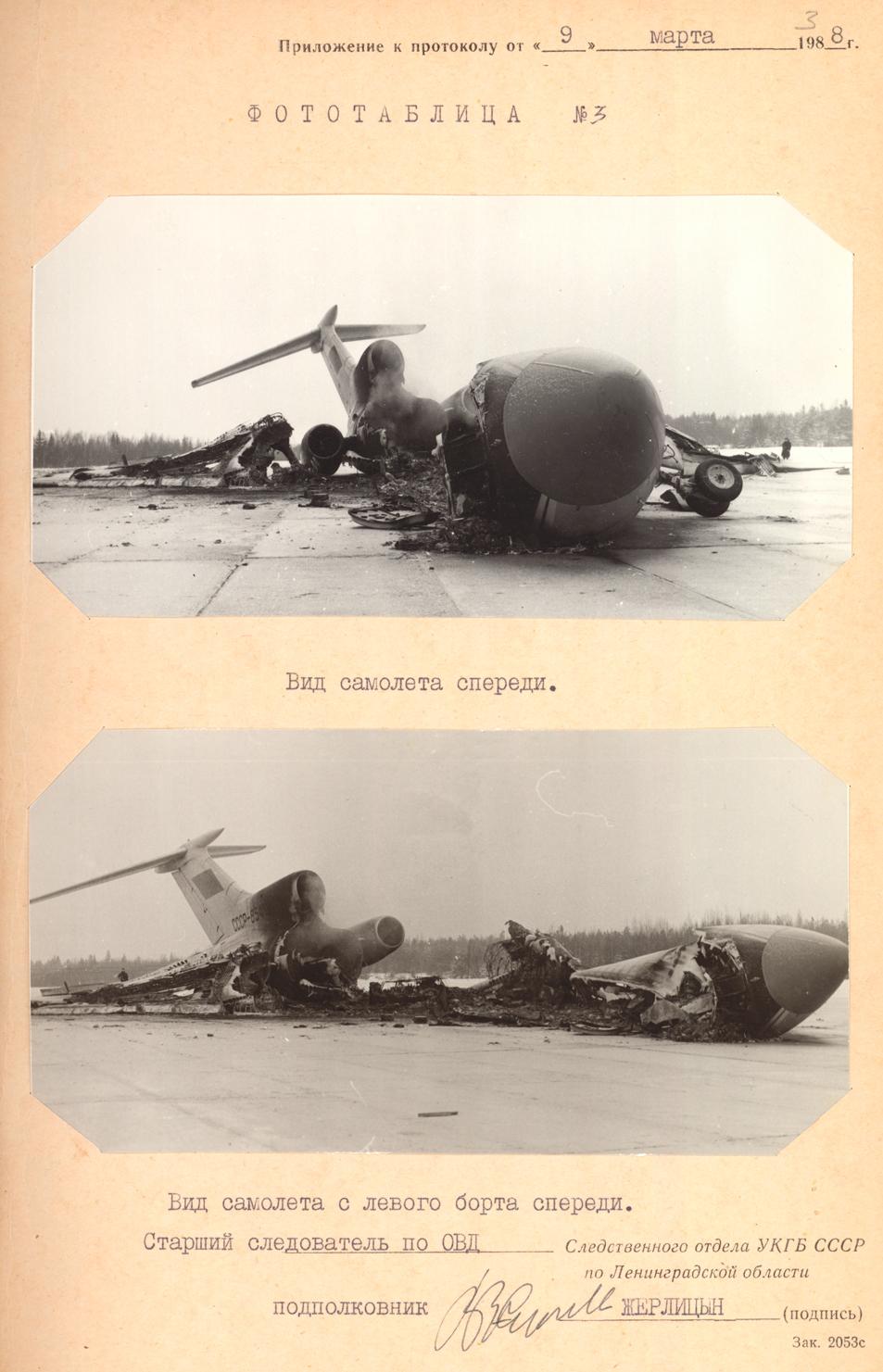 Сгоревший самолет, угнанный Овечкиных. Фото diletant.media