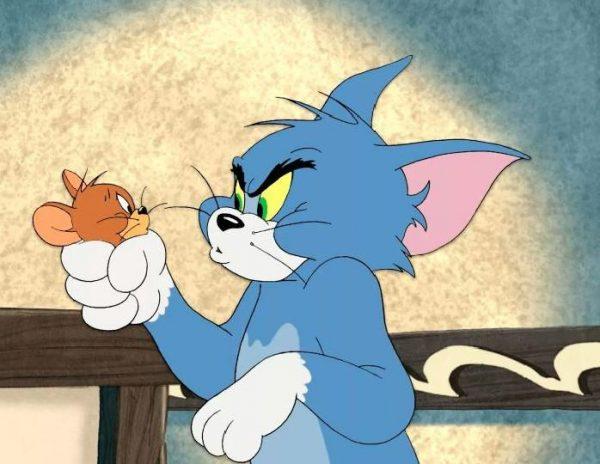 """Кадр из мультфильма """"Том и Джерри"""""""
