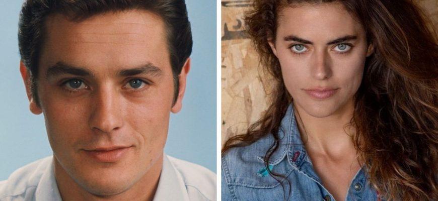 Внучке Ален Делона уже 34 года и она очень похожа на деда: Как сейчас выглядит Элисон ле Борж и как сложилась её судьба