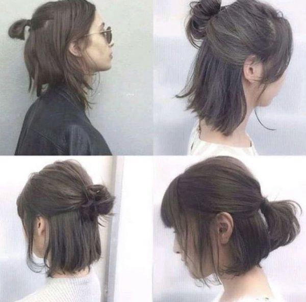 Как красиво сделать хвост на средние, длинные и короткие волосы - пошаговые инструкции, фото, видео