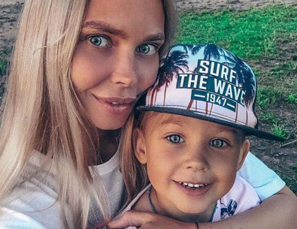 Бывшая жена Стаса Пьехи и его сын Пётр
