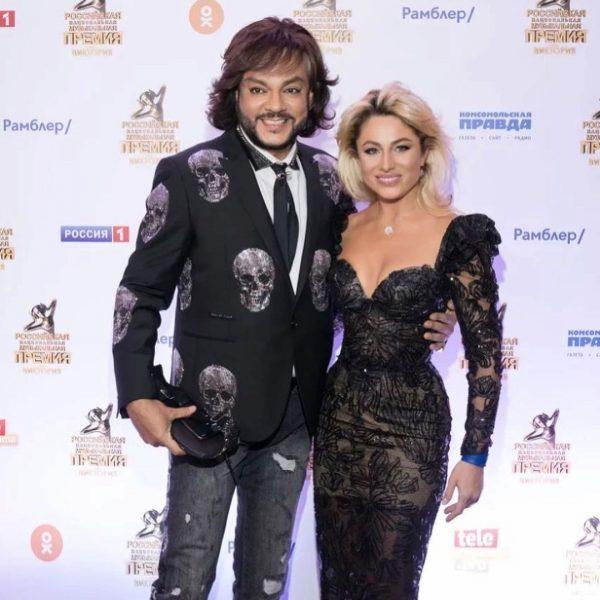 Филипп Киркоров и Наталия Гордиенко, фото:vokrug.tv