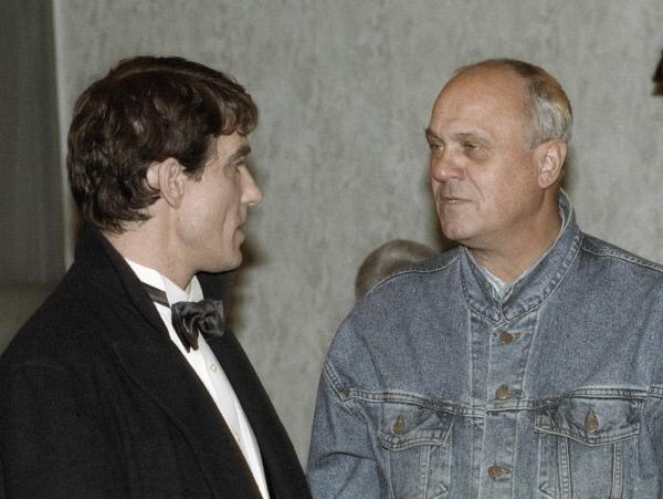 Валерий Гаркалин и Владимир Меньшов, фото:visualrian.ru