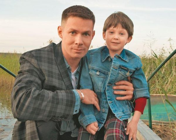 Стас Пьеха с сыном, фото:storyfox.ru