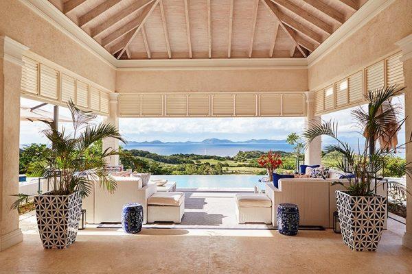 Фото виллы Villa Antilles, где отдыхали Кембриджи