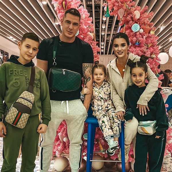 Семья Ксении Бородиной