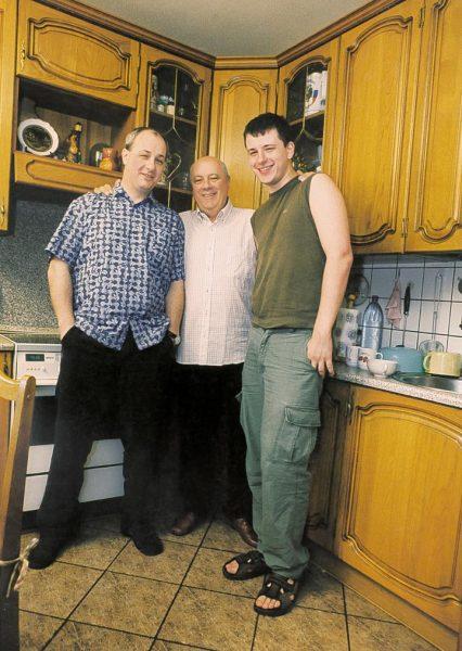 Аркадий Инин с сыновьями, фото:fotkaew.ru