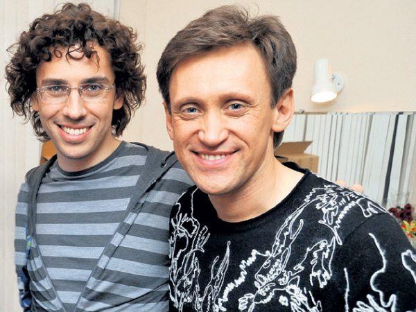 Максим Галкин и Сергей Задорнов, фото:123ru.net