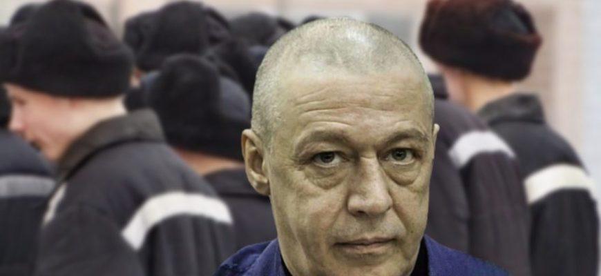 Михаил Ефремов в колонии. Фото nevnov.ru