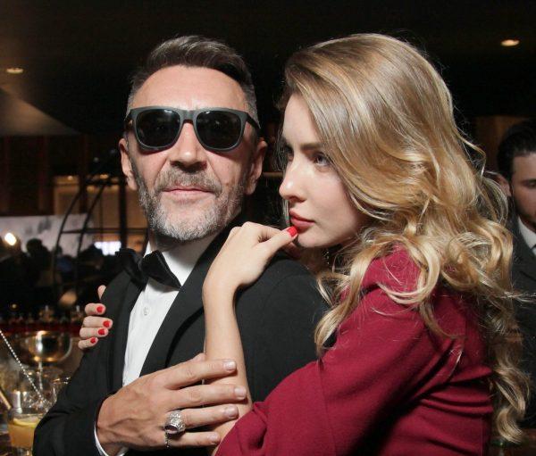 Сергей Шнуров и его жена Ольга Абрамова