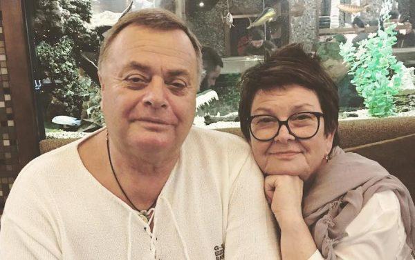 Владимир Фриске с женой, фото:kleo.ru