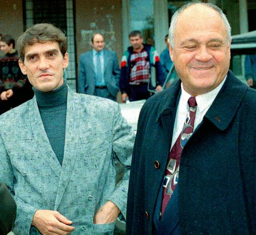 Валерий Гаркалин и Владимир Меньшов, фото:sgubern.ru