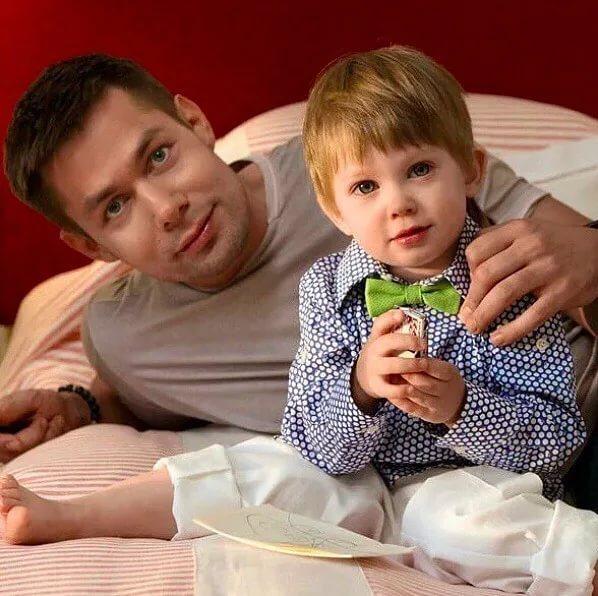 Стас Пьеха с сыном, фото:Instagram