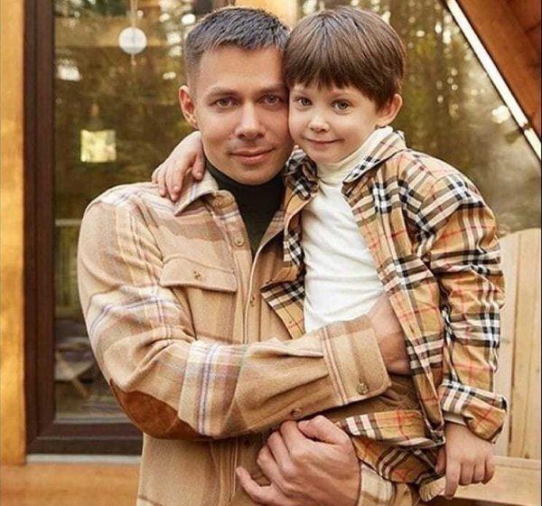 Стас Пьеха с сыном, фото:ok.ru