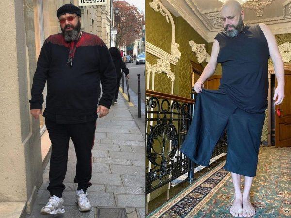 Макс Фадеев до и после похудения. Фото championat.com