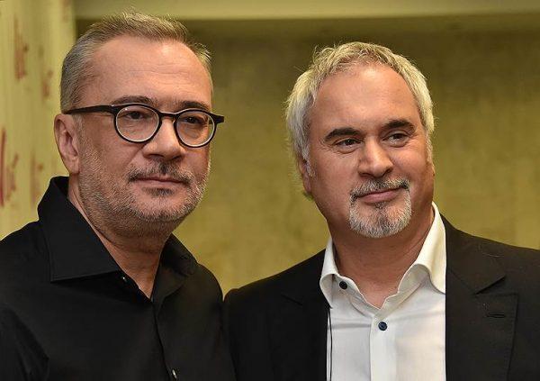 Валерий и Константин Меладзе, фото:nvdaily.ru