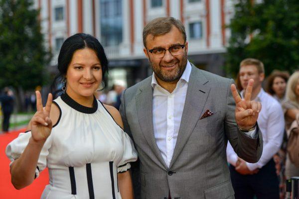 Михаил Пореченков с женой, фото:pravda-nn.ru