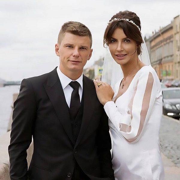 Алиса Казьмина и Андрей Аршавин, фото:tvcenter.ru