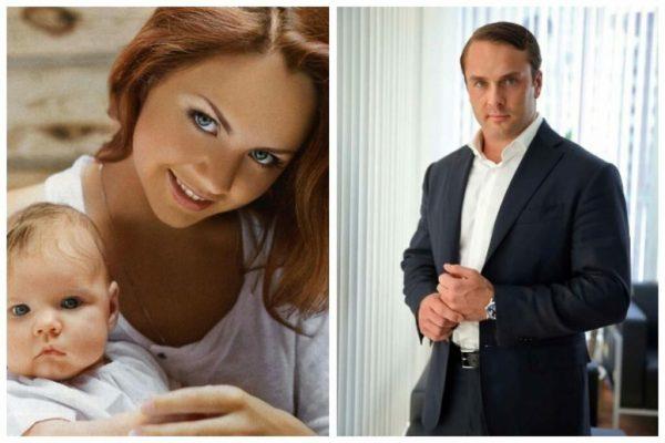 Максим с дочерью и Антон Петров