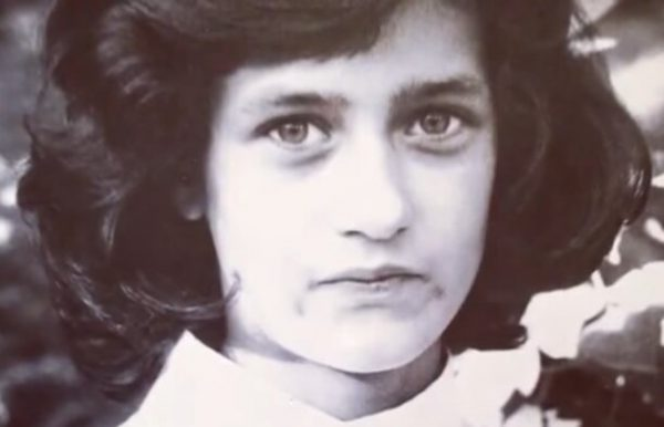 Виктория Исакова в юности