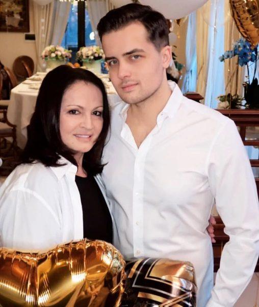 София Ротару с внуком, фото:ivona.bigmir.net