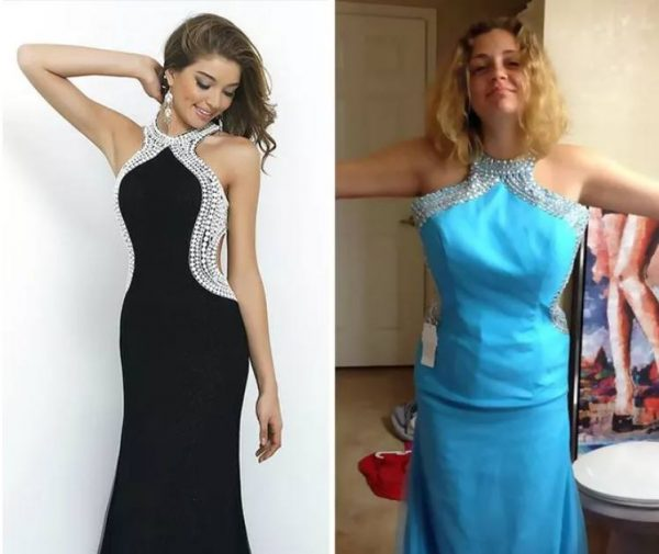 Шоппинг провалился или 28 стрёмных фото выпускных платьев, купленных на Алиэкспресс