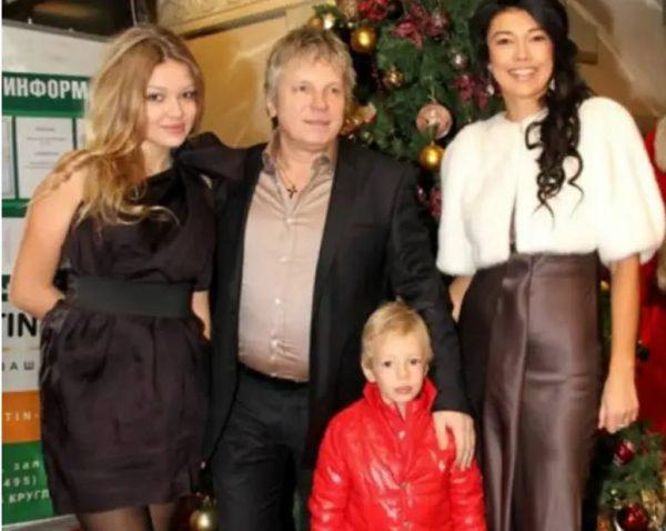 Новая семья Виктора Салтыкова. Фото Инстаграм