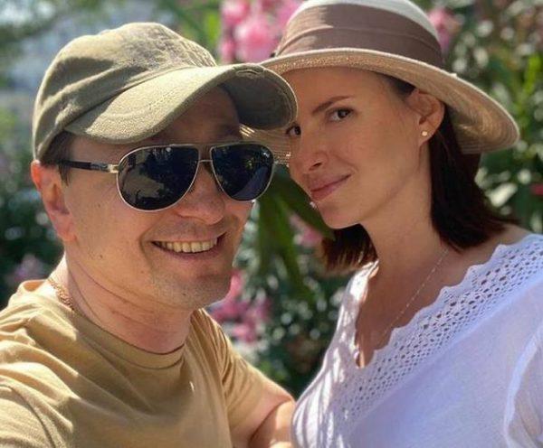 Сергей Безруков и Анна Матисон. Фото Инстаграм