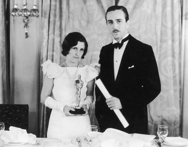 Свадьба Уолта Диснея и Лилиан