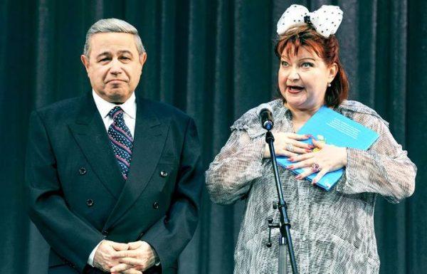 Степаненко и Петросян. Фото Вокруг ТВ