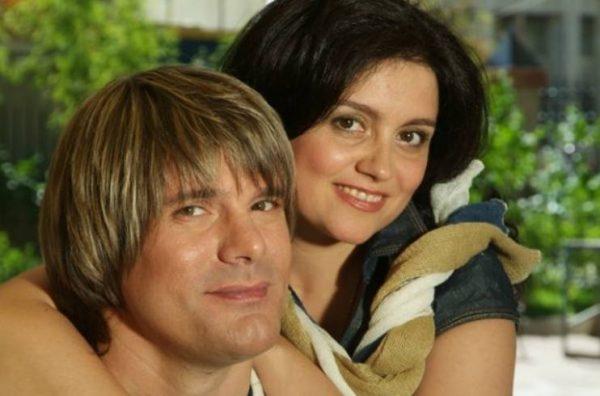 Николай Трубач с женой. Фото vladtime.ru