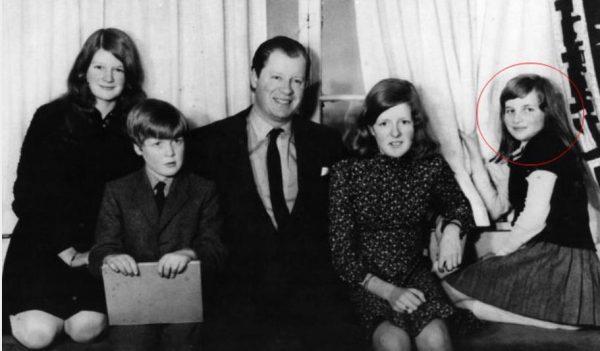 Семья принцессы Дианы - родители, сестра Сара, брат Чарльз Спенсер. Фото uznayvse.ru