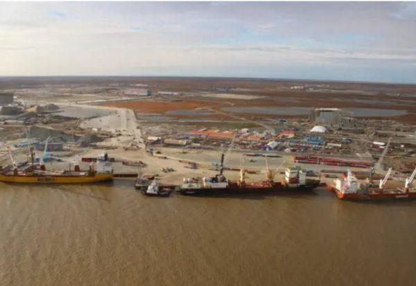 Порт Сабетта на Ямале