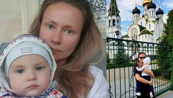 Мария Миронова с сыном Федором. Фото Инстаграм
