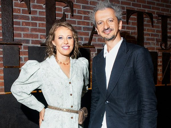 Ксения Собчак и Константин Богомолов, фото:topnews.ru