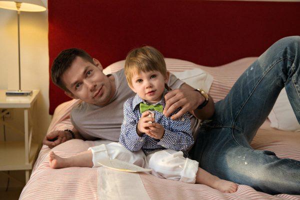 Стас Пьеха с сыном, фото:obovsyom.com