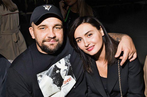 Василий Вакуленко с женой