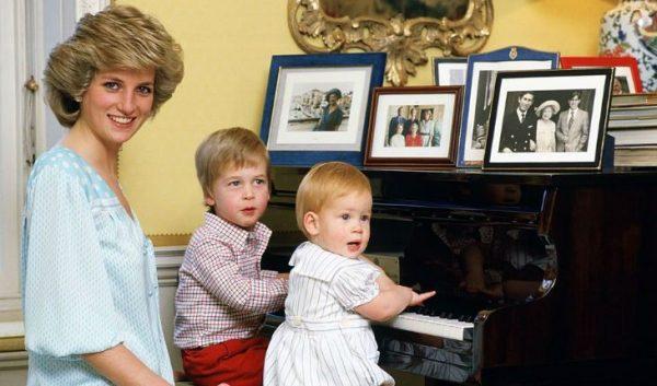 Принцесса Диана и сыновья. Фото uznayvse.ru