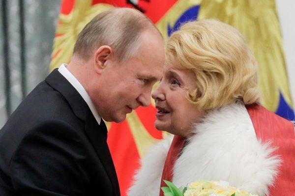 Владимир Путин прекрасно относится к Татьяне Дорониной