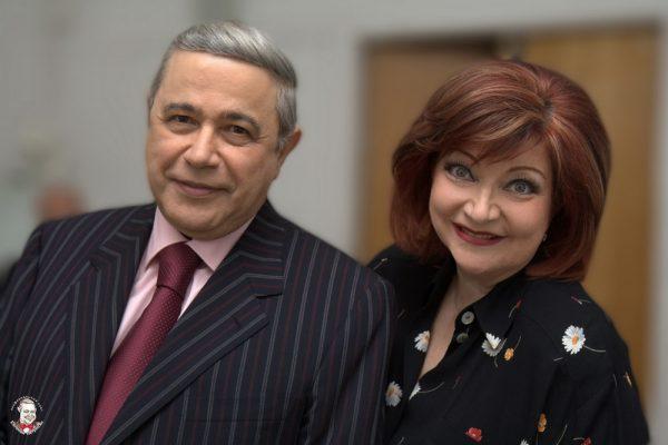 Елена Степаненко и Евгений Петросян, фото:e-petrosyan.ru