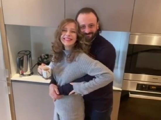 Илья Авербух с женой